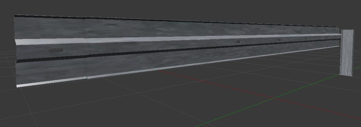 4 m guardrail plank and 75 cm IPE 140 pole.jpg