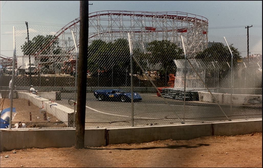 east chicane sports cars and roller coaster.JPG