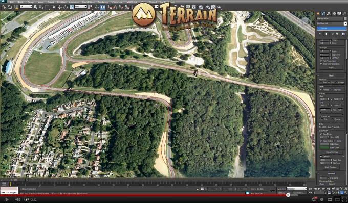 TOOL - Terrain generator for 3dsmax | Assetto Corsa Mods