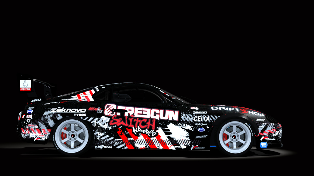 SwitchRiders Toyota Supra Drift | Assetto Corsa Mods